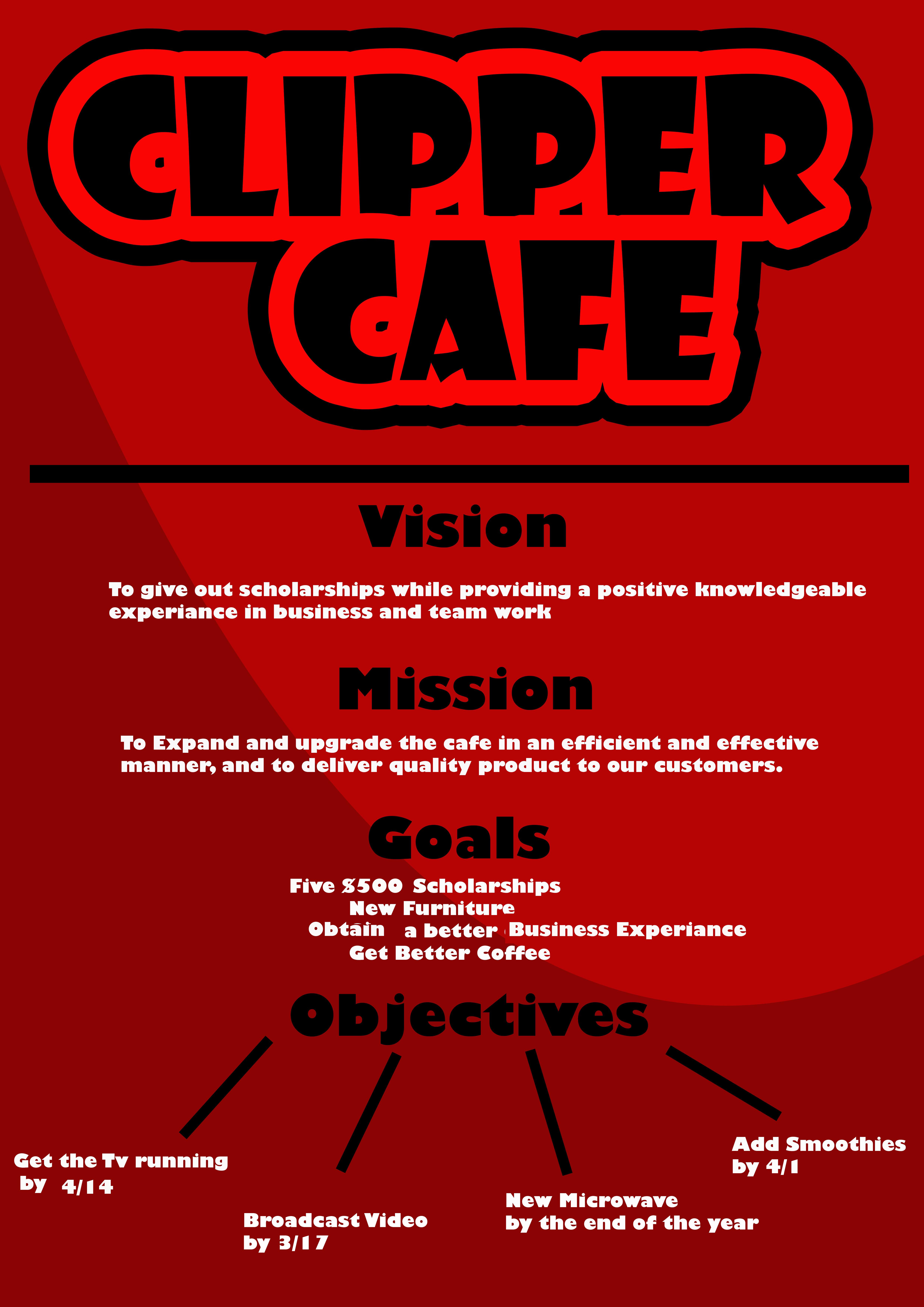 cafe strategic plan